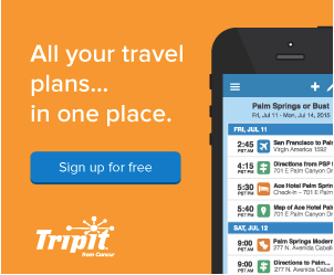 Travel Planning Apps - Tripit