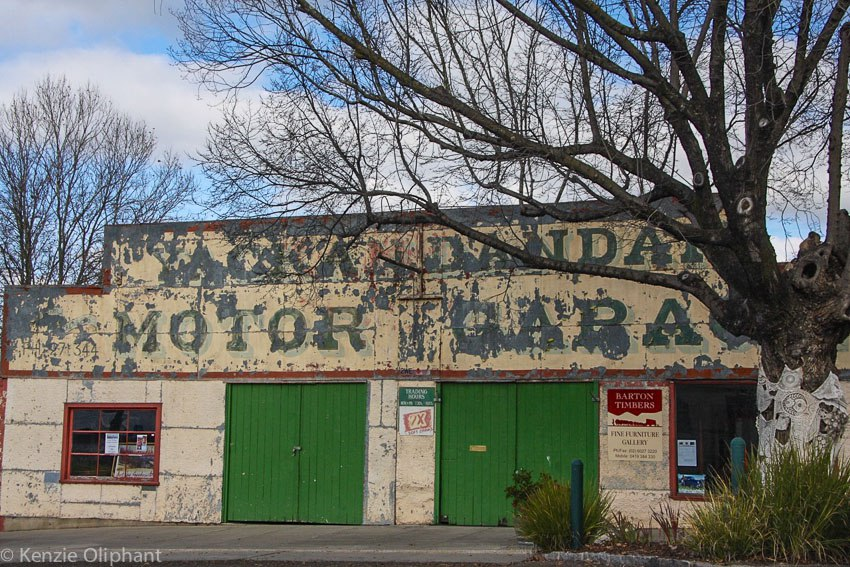 Yackandandah old garage