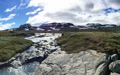 Chasing the Glacier – A Day in Finse, Norway