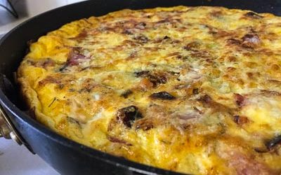 Making The Best Frittata In The World